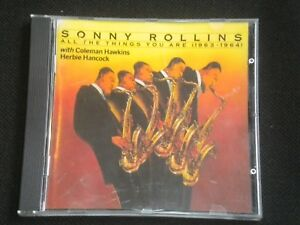 Sonny-Rollins-All-The-Things-You-Are-1963-1964-CD-Album-1990-12-Tracks