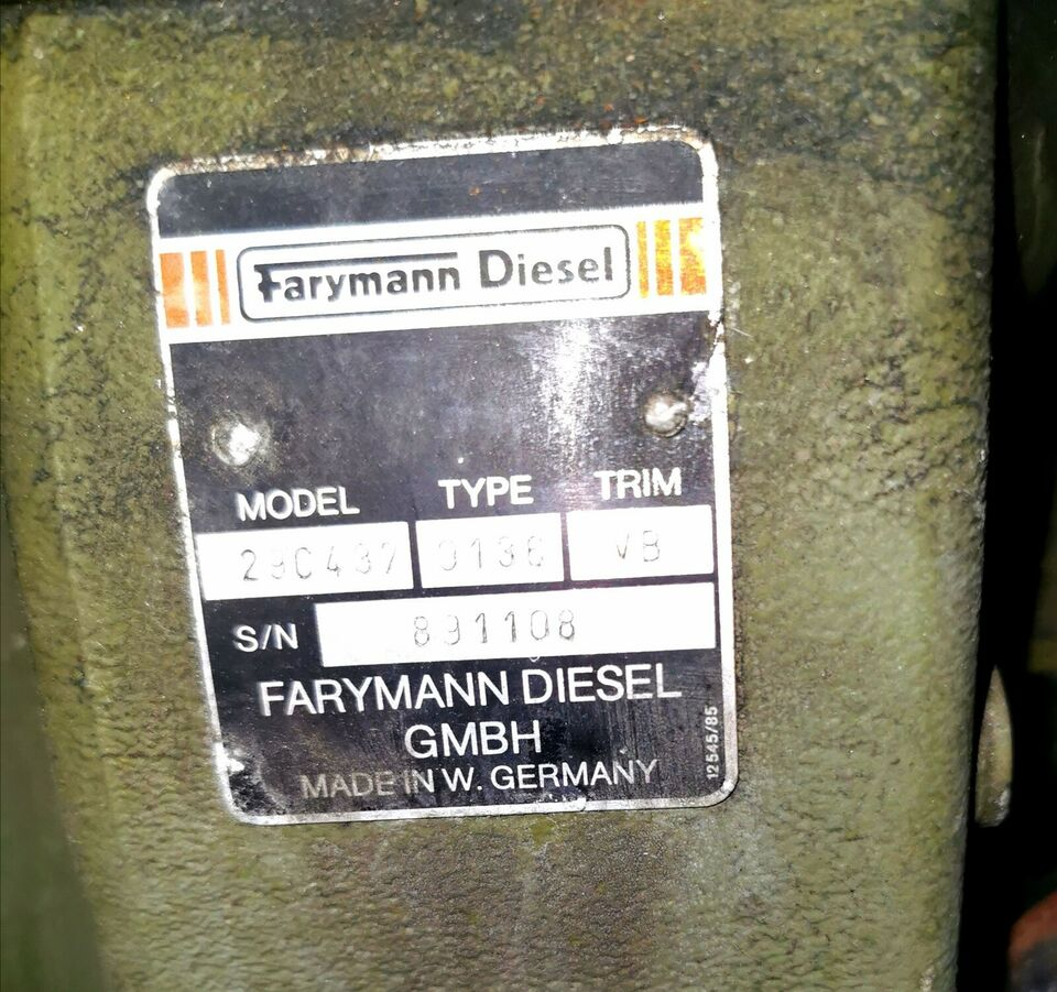 Diesel Generator, FARYMANN