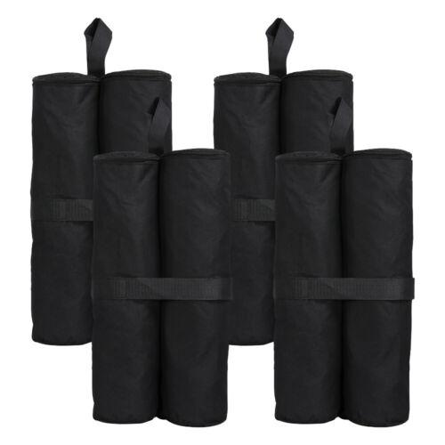 4 x LARGE GAZEBO FOOT LEG POLE SANDBAG WEIGHTS MARQUEE MARKET STALL SAND BAGS