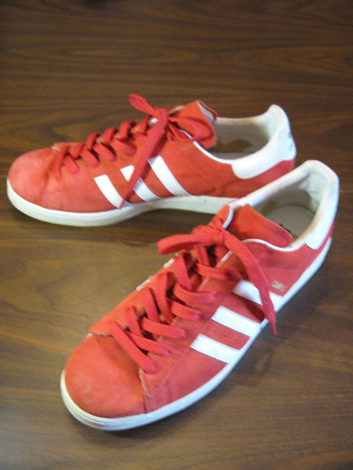 ADIDAS CAMPUS ll ORIGINALS With Trefoil Red Basketball Shoes Comfortable