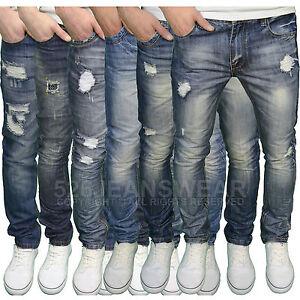 Slim Lightwash Jeans Mens Fashion