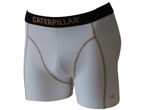 Weiß Boxer Long,Schwarz CAT Caterpillar 12|24 Stück Boxer Short o Grossmenge