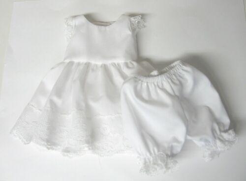 "White Slip and Bloomer set fits Bleuette and slim 11/""-12/"" Dolls"