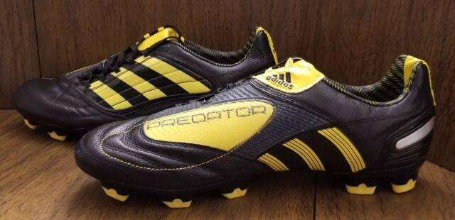 4ce511ff62d9 Men s Adidas Predator Absolion X FG Soccer Cleats - Black Yellow New