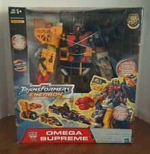 Transformers Energon Omega Supreme Action Figure Hasbro 2004 New In Box