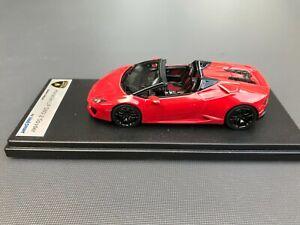 Lamborghini Huracan Spyder Rosso Mars Looksmart 1:43 no MR BBR