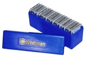 Whitman-Universal-Slab-Storage-Blue-Box-Hold-20-Graded-Coin-Slab