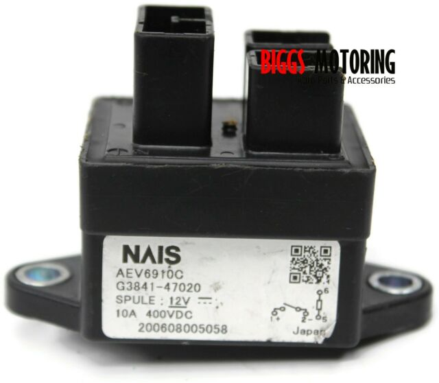 2004-2009 Toyota Prius Hybrid Battery Relay Module G3841