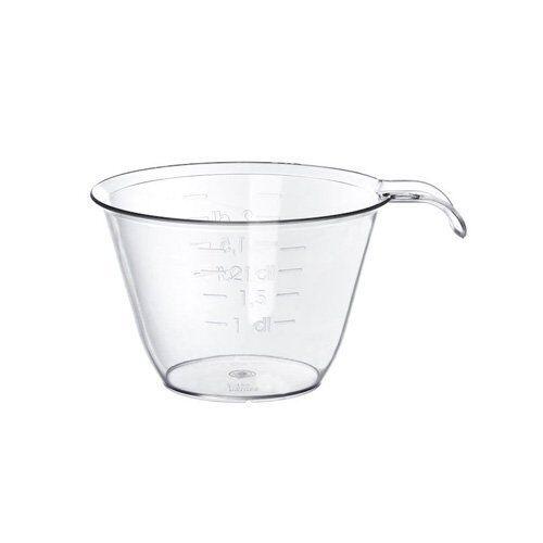 Tasse De Mesure 1 To 2.0 avec Poignée Cristal en Plastique Transparent Qualité garantie 177