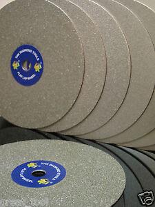 8-034-INCH-Grit-600-Diamond-coated-Flat-Lap-wheel-Jewellery-lapping-polishing-disc