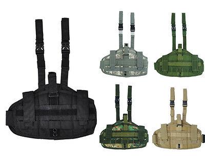 Tactical Military Airsoft Molle Versatile Drop Leg Pistol Gun Holster Pouch Bag