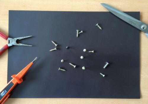 Magnetmatte Magnet Pad 200mm x 200mm Magnetbrett  Magnetfolie Magnetunterlage
