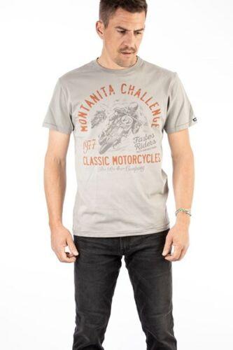 Rokker Montanita Classic T-Shirt Hommes Vintage Rocker Biker Classic Motorcycles