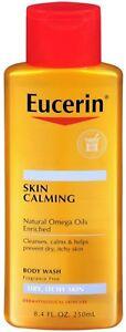 Eucerin-Skin-Calming-Dry-Skin-Body-Wash-Oil-Fragrance-Free-8-4-oz-Pack-of-4