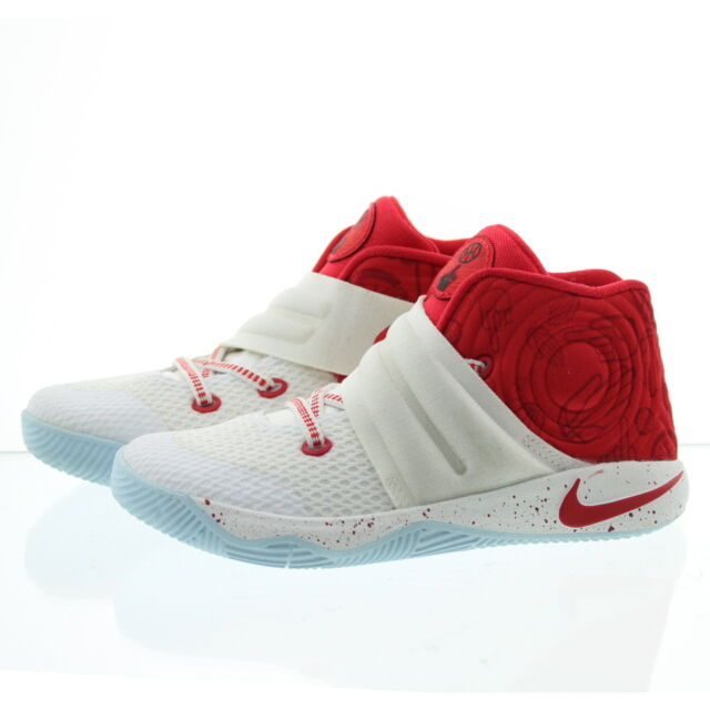 b6f492f33aa4 Nike Kyrie Irving 2 (td) SNEAKERS Toddler Boys 6c White red 827281 ...