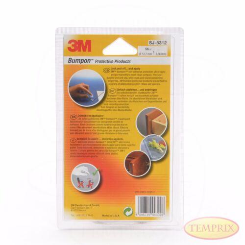 3M Bumpon SJ5312 Elastikpuffer Transparent Abstandshalter Puffer Temprix
