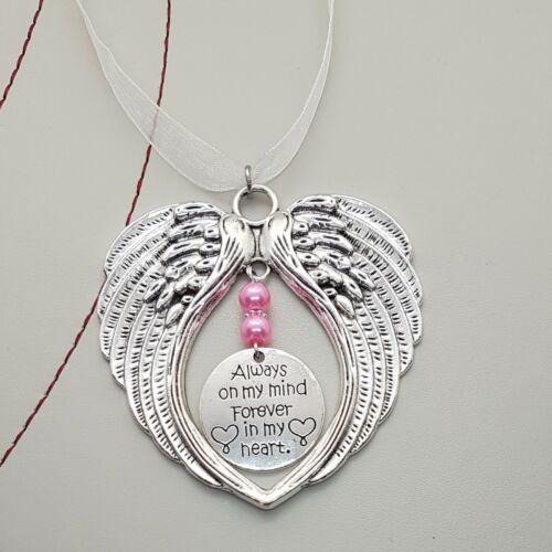 hecho a mano Alas de protección de Ángel Guardián siempre en mi mente siempre en mi corazón