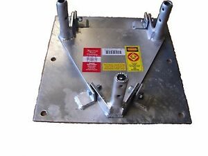 Details about AMERICAN 25G - TILT BASE PLATE FOR Bracketed Towers, OEM Made