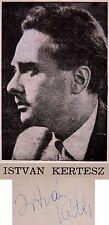 1964 MOZART REQUIEM Hand Signed AUTOGRAPH PROGRAM Istvan KERTESZ Israel IPO