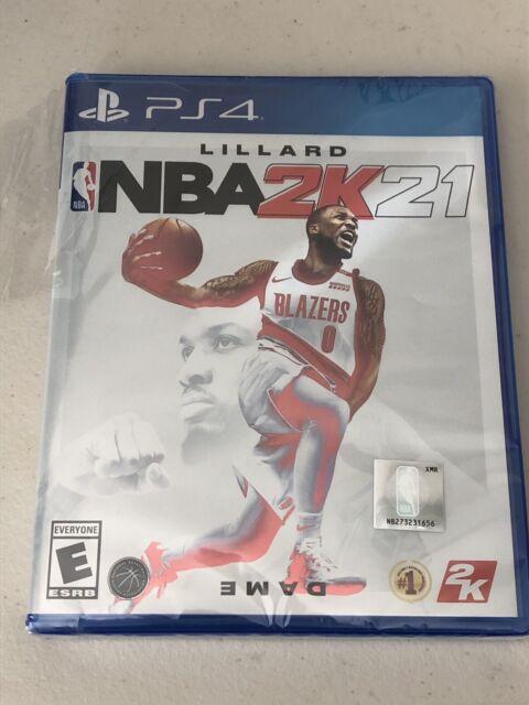 NBA 2K21 -- Standard Edition (Sony PlayStation 4, 2020) - Sealed, Case Dmg *Read
