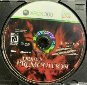 RARE-DISC-ONLY-Deadly-Premonition-Microsoft-Xbox-360-Good-Acceptable-CONDITION