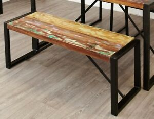 Image Is Loading Urban Chic Reclaimed Wood Furniture Dining Table Two