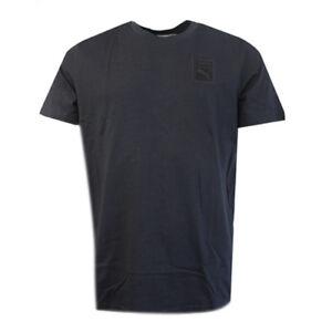 1ba4f31b07fa95 Puma X Trapstar Black Plain Short Sleeve Mens Tee Top T-Shirt 571699 ...