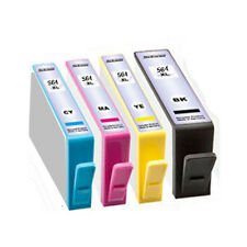 1 FULL SET INK CARTRIDGES HP564 XL FOR PHOTOSMART C510A C410A C309G D7560 C6380