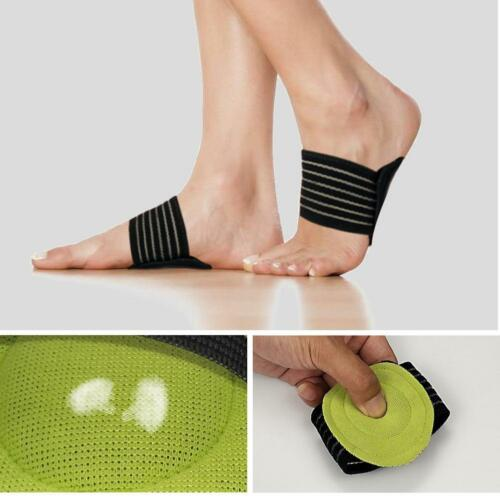 1 Pair Foot Support Cushioned Arch Helps Decrease Plantar Fasciitis Pain B0I9