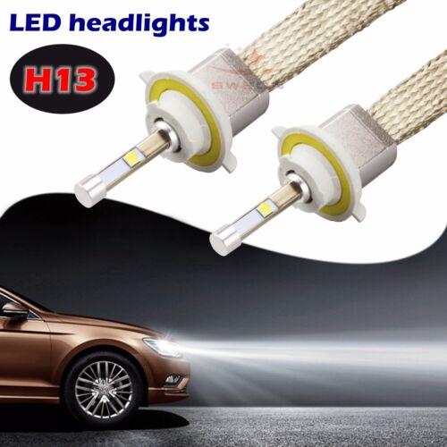 2Pcs 40W H13 4800LM Cree LED Car LED Headlight Kit Bulb Xenon White 6000K Lamp