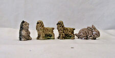 Group of 4 Wade Red Rose Tea Figurines