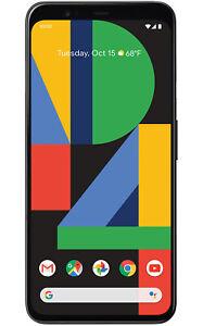 Google-Pixel-4-XL-G020J-64GB-Just-Black-AT-amp-T-Single-SIM