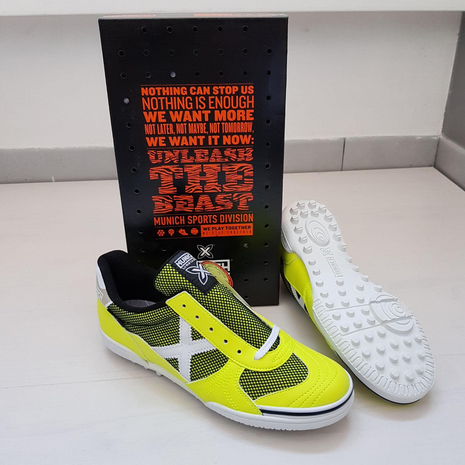 M57 MUNICH G3 GENIUS OUTDOOR CALCETTO Schuhe ESTERNO SCARPINI Schuhe CALCETTO Schuhe FLUO 3013020 f77dd7