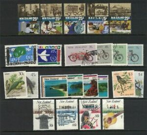 MNZ63-New-Zealand-1986-Stamp-Sets-CTO-Used