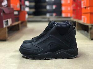 Details about Nike Air Huarache Run Mid Zipper Womens Shoe BlackDust 807314 002 Multi Sizes