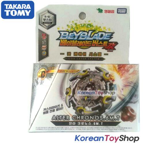 BeyBlade Burst B-82 Booster ALTER CHRONOS 6M.T Takara Tomy Original BOX