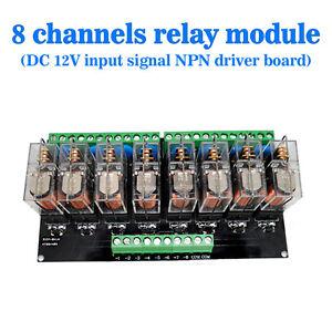 Omron-8-Relay-Module-Eight-Panels-Driver-Board-Module-DC-12V-NPN