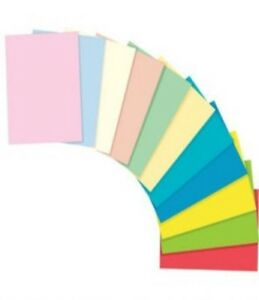 A4-Coloured-Craft-Sheets-Printer-Copier-Packs-80gsm-Paper-or-160gsm-Card