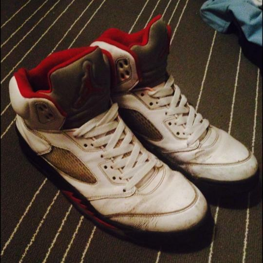Air Jordan: Fire Red 5s  Cheap and fashionable