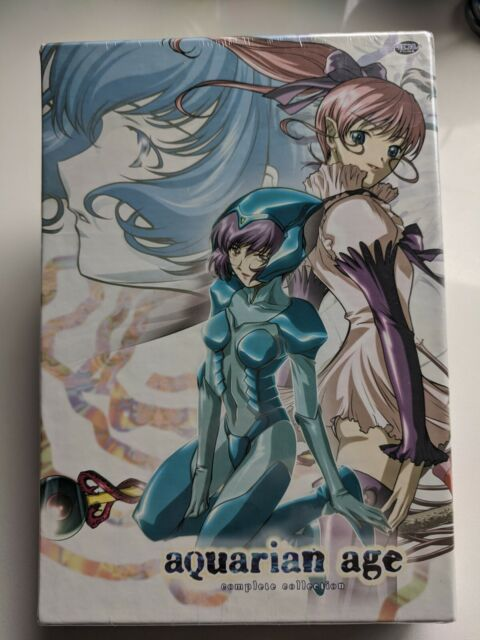 AQUARIAN AGE - Complete Collection (DVD, 2008, 3-Disc Box Set)