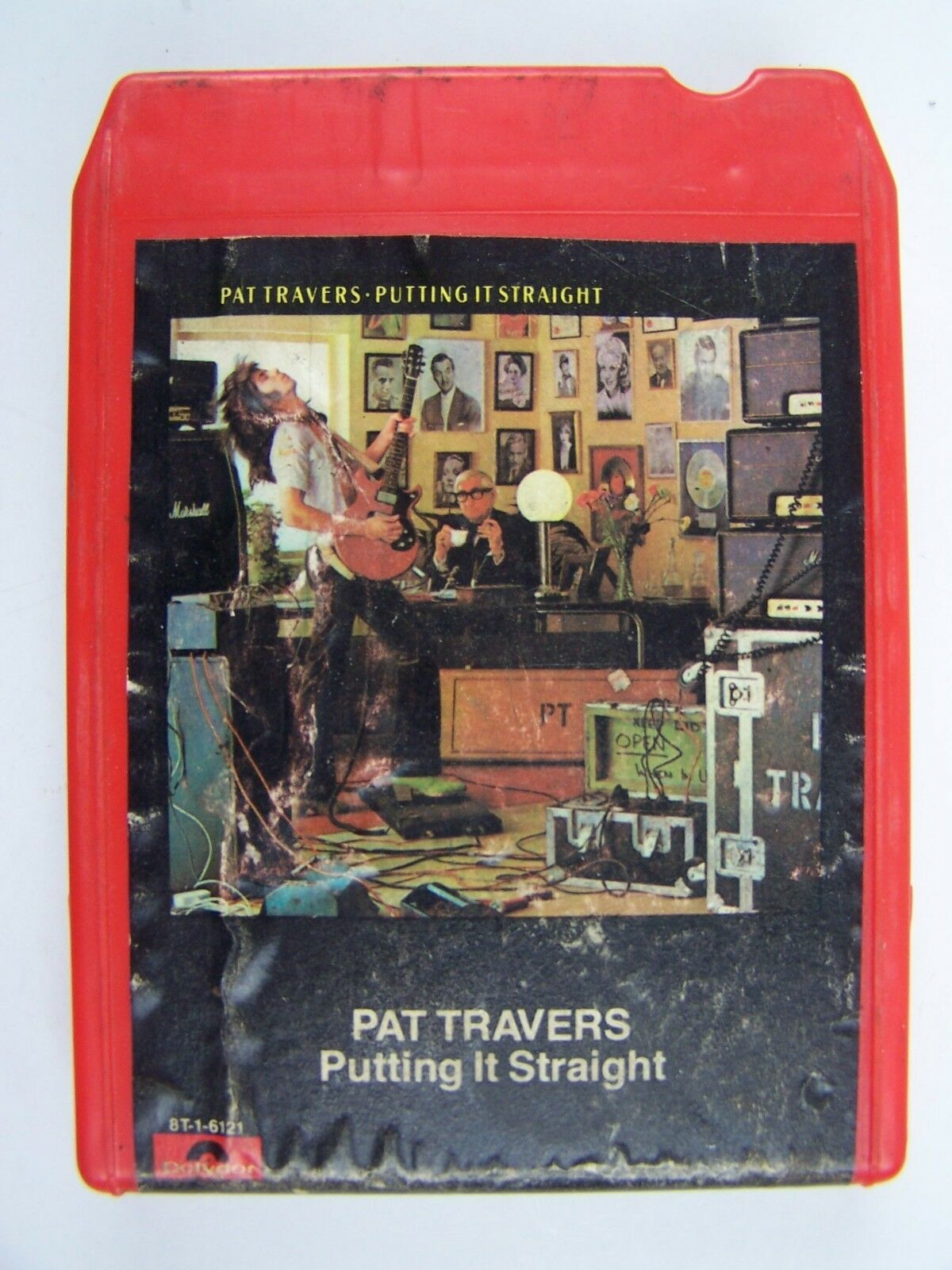 Pat Travers - Putting It Straight 8 Track Album 8T-1-61
