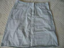 "Womens 16 High Sierra 22"" Khaki A-Line Skirt Four Pockets"