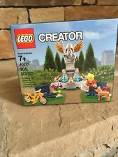 NISB LEGO Creator Fountain 40221 Exclusive Promo Very Limited: Rare minifigures