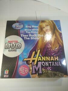 Hannah Montana DVD Game Disney Mattel New Factory Sealed