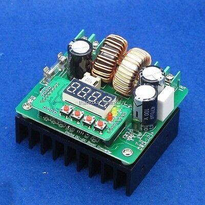 CNC Digital LED Driver Display Battery Charger 400W DC-DC Boost Converter CC CV