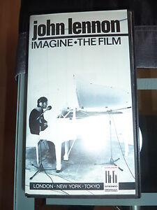 RARE ALTE VHS KASSETTE%VIDEOFILM%JOHN LENNON IMAGINE THE FILM - Deutschland - RARE ALTE VHS KASSETTE%VIDEOFILM%JOHN LENNON IMAGINE THE FILM - Deutschland