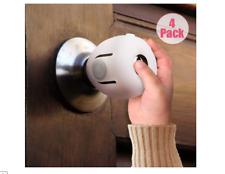4 Pack Child Proof Safe Door Knob Cover Children Safety Lock Kids Toddler Guard