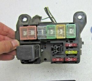 Details about 2000 00 ESCORT ZX2 COUPE MAIN FUSE BOX RELAY WIRE PANEL on main panel box, main fuse house, main terminal box, circuit breaker box, main circuit box, heater box, main disconnect switch, main breaker panel, main electrical box, light box, main fuse battery, main breaker box, generator box, main circuit breaker, motor box,