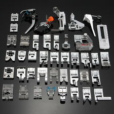 New 42pc Domestic Sewing Machine Foot Presser Feet Set For Brother Singer Janome