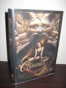 1st-Edition-COUNTERFEIT-MAGIC-Kelley-Armstrong-SUBTERRANEAN-PRESS-Fantasy-NOVEL